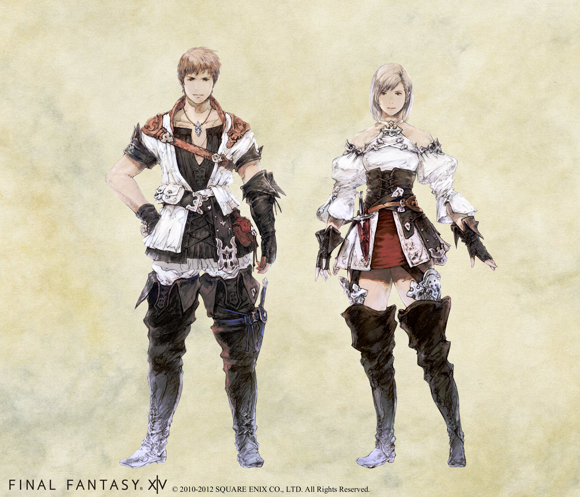 Final Fantasy XIV 2.0 Character Classes Introduced and New Artwork ...