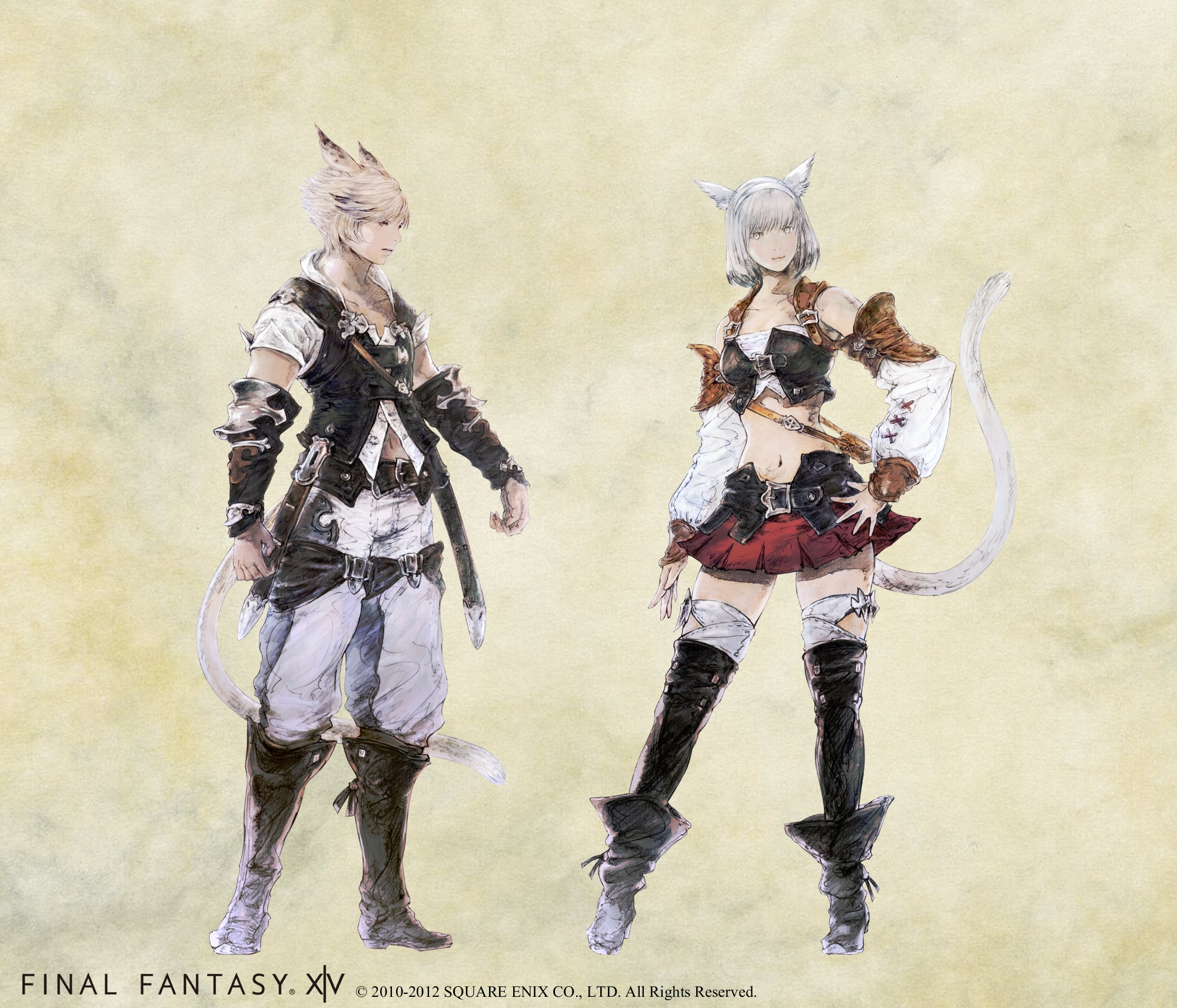 Final Fantasy XIV 2 0 Character Classes Introduced and New
