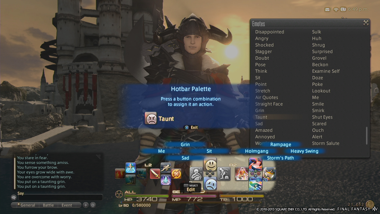 FINAL FANTASY XIV: A REALM REBORN PREVIEW [PS3 BETA