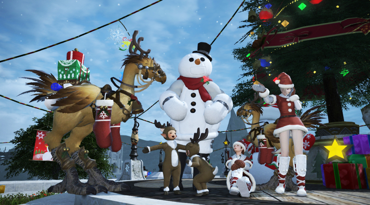 Final Fantasy Christmas.Celebrate Christmas In Eorzea With A Realm Awoken Square