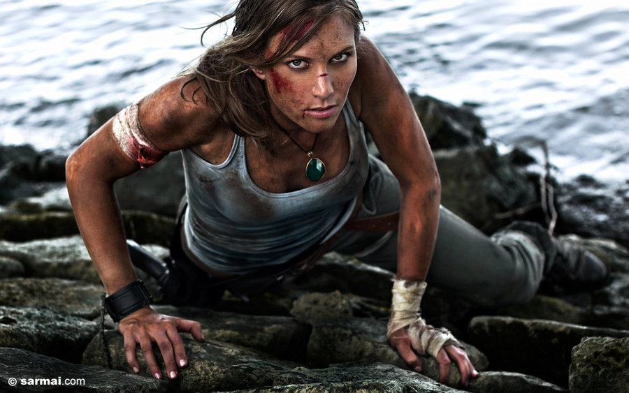 Tomb Raider cosplay photoshoot by SarmaiBalazs
