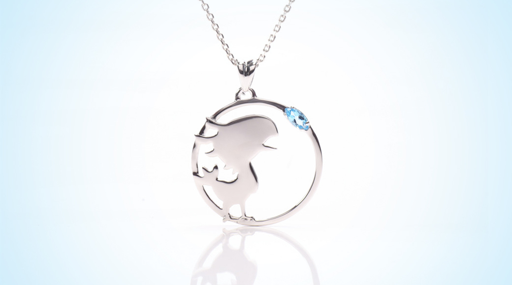Final fantasy silver cactuar and chocobo necklaces revealed square chocobopendantbanner mozeypictures Choice Image