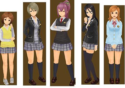"Square Enix Reveals ""SchoolGirl Strikers"" | New Artwork & Info"
