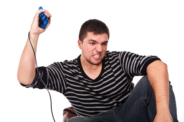 """Any player who has thrown down a remote control after losing an electronic game can relate to the intense feelings or anger failure can cause,"" explains lead author Andrew Przybylski, a researcher at the Oxford Internet Institute at Oxford University, who said such frustration is commonly known among gamers as ""rage-quitting."""