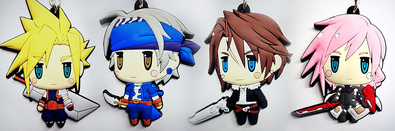 New Kawaii Final Fantasy Key Chains Revealed