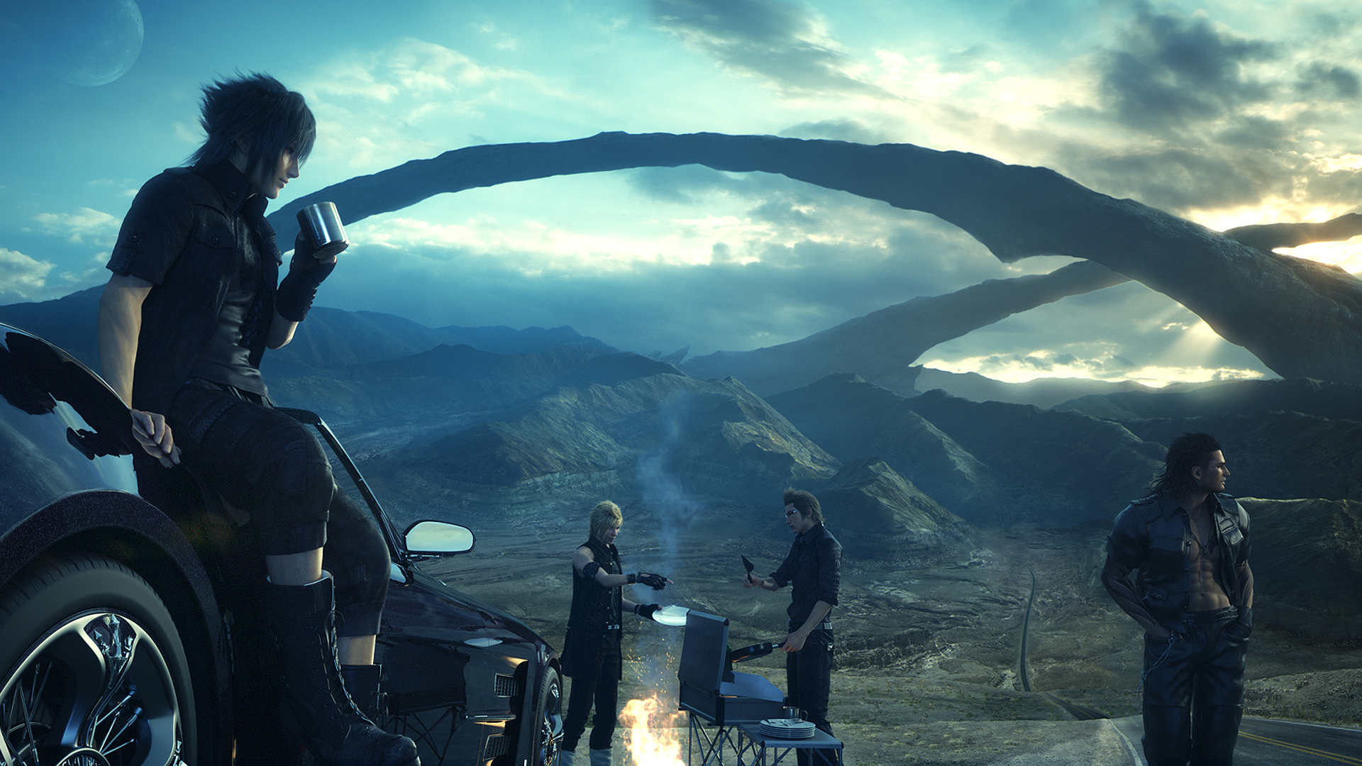 Final Fantasy Xv Wallpapers In Ultra Hd: Finalfantasyxv2wallpaper
