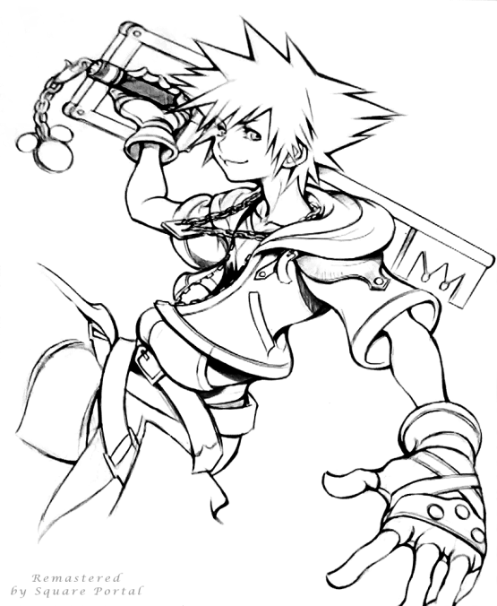 A remastered edit of Nomura's Sora Sketch