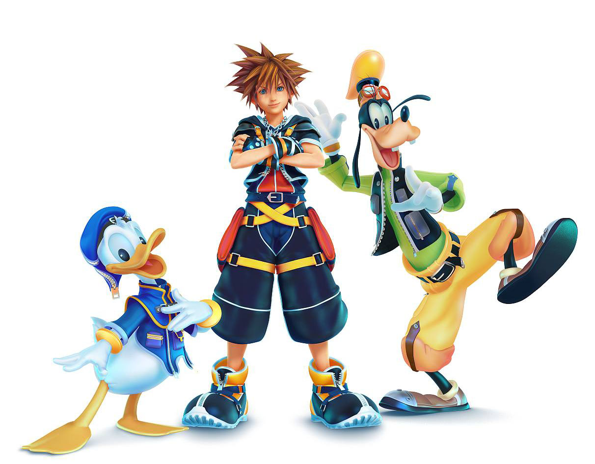 Kingdom-Hearts-III-Teaser-Art-of-Sora-Donald-and-Goofy