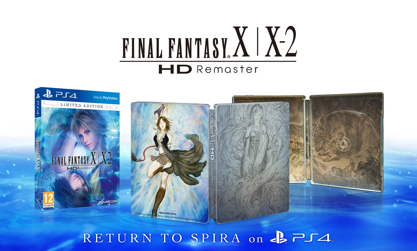 FFX HD Remaster Limited Edition Artework
