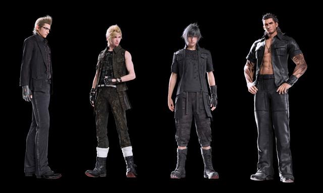 Character Design Final Fantasy Xv : L b ac ff square portal