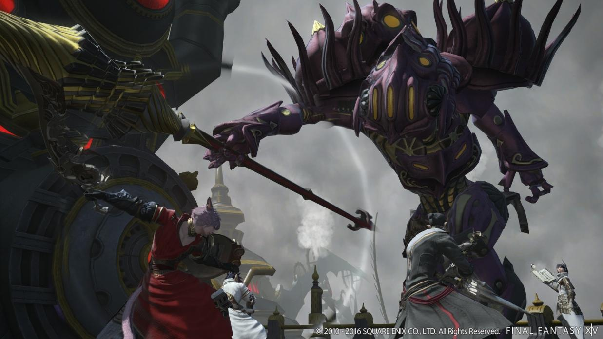 The First Details about Final Fantasy XIV Patch 3 4 Soul Surrender