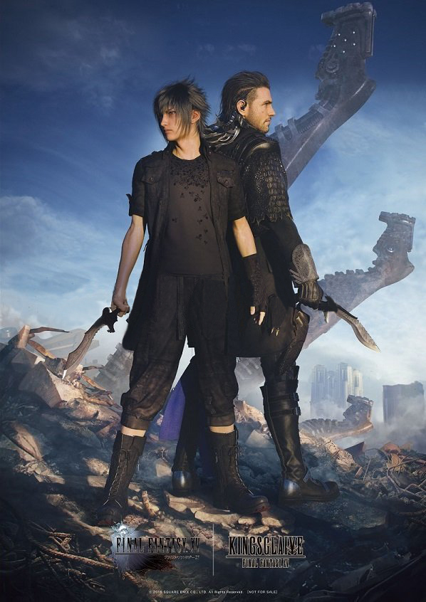 New Final Fantasy Xv X Kingsglaive Final Fantasy Xv Artwork