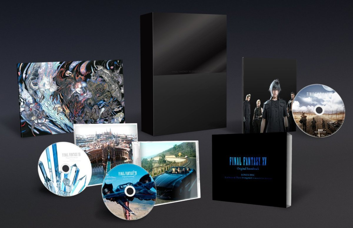 Final Fantasy Xv Original Soundtrack Release Date Announced With A