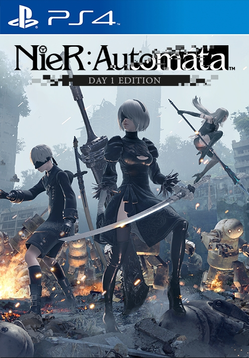 Image result for nier automata box art
