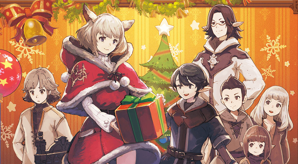 Final Fantasy Christmas.Celebrate Christmas In Final Fantasy Xiv Starting This