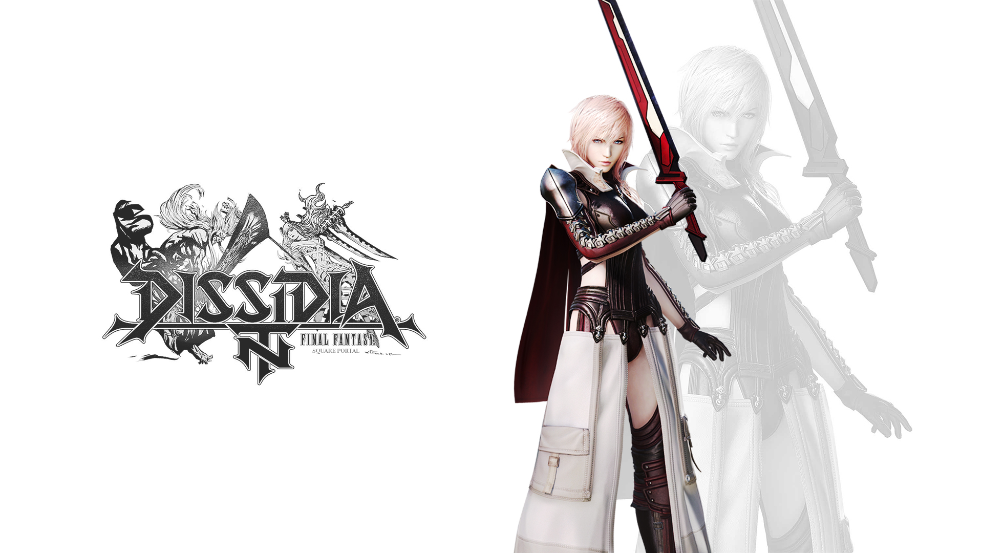 Dissidia Final Fantasy Nt Fankit Lightning Wallpaper Square Portal